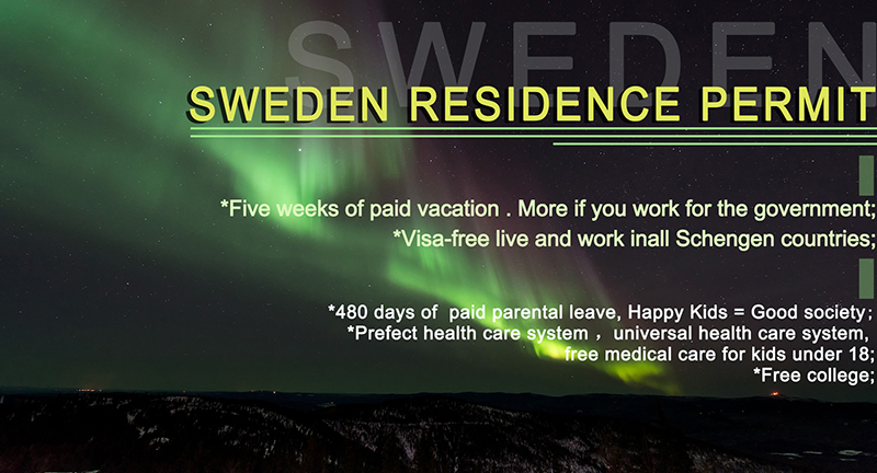 Moving to Sweden, make your dream life real!
