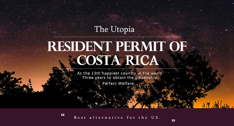 Costa Rica Residence Permit